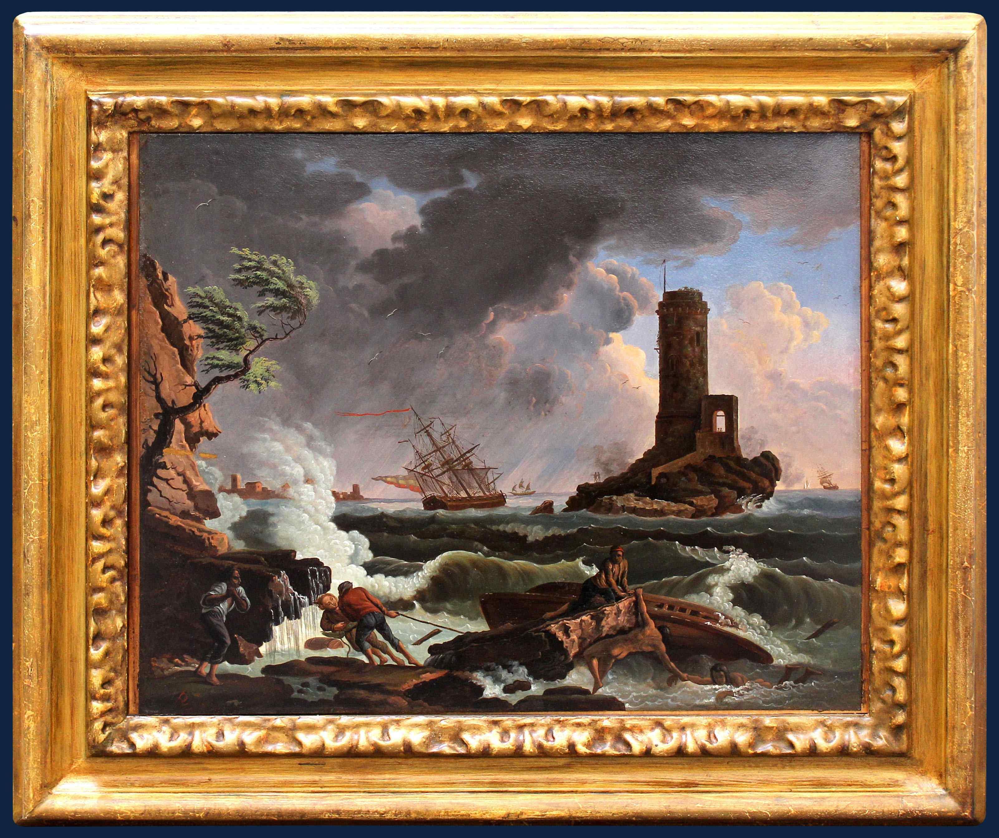 Maniera di Claude Joseph Vernet, Burrasca