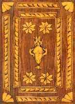 XVIII secolo, Coppia di comodini, Intarsiati-4