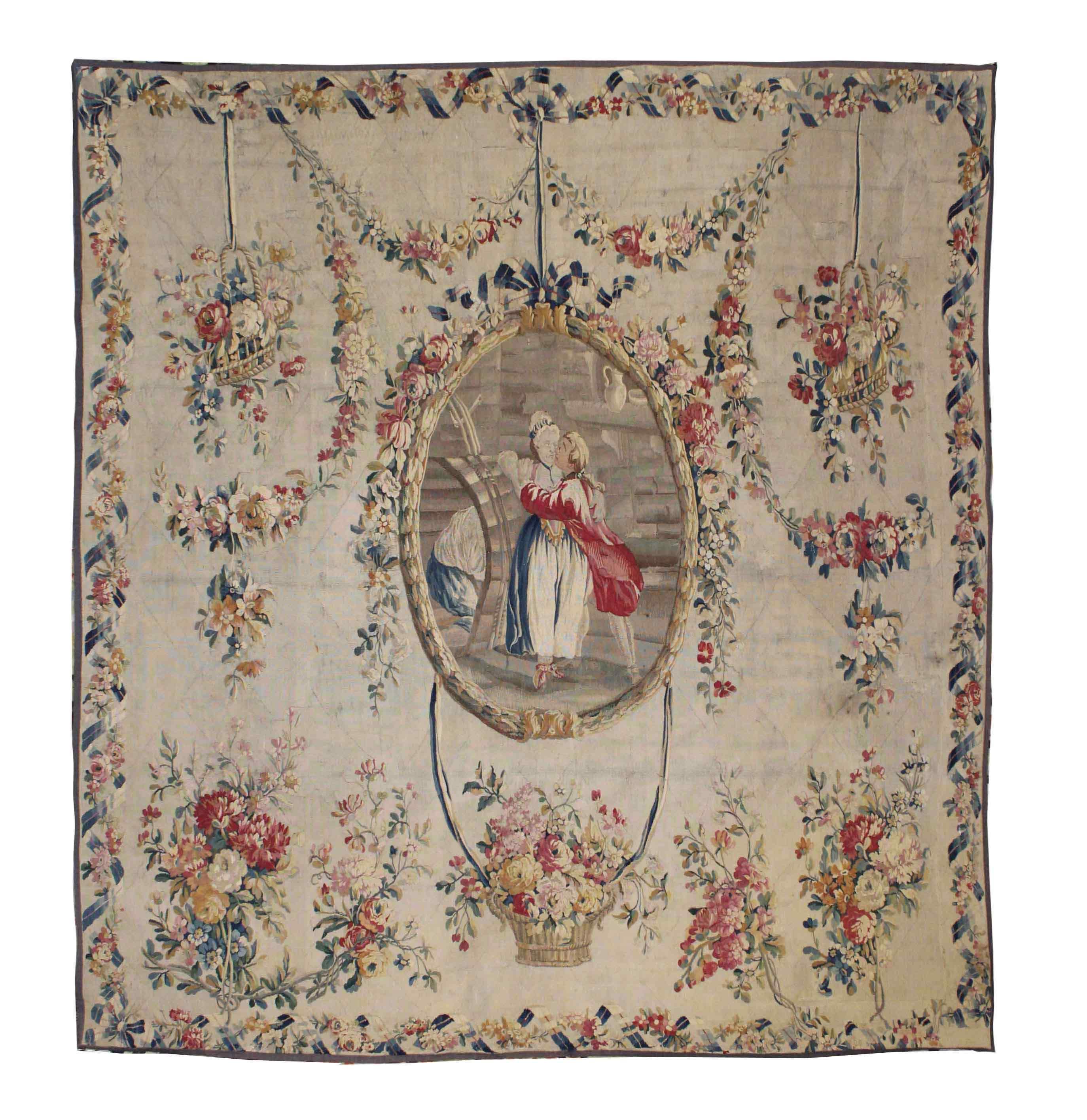 Aubusson Tapestry XVIII
