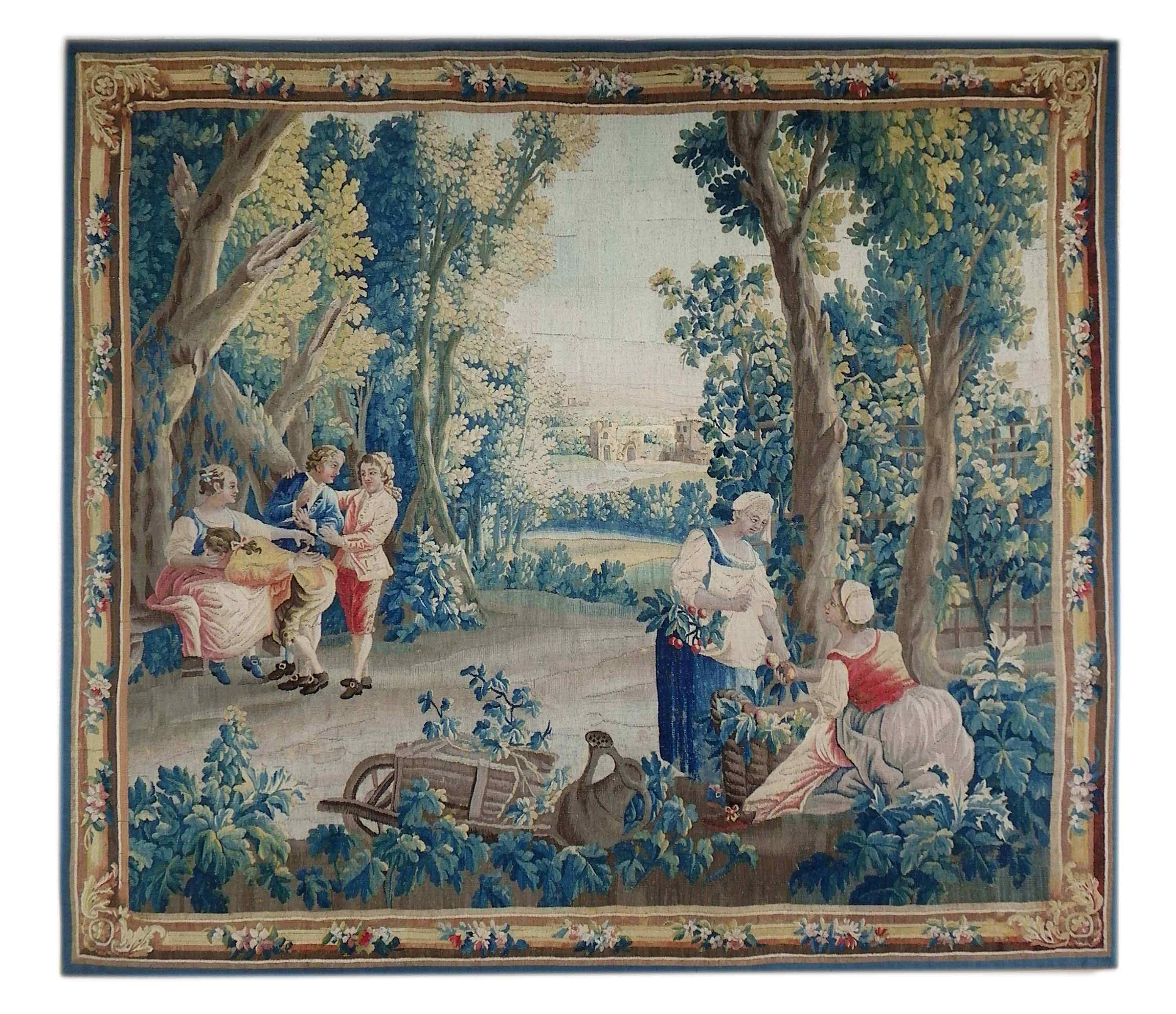 Aubusson originale del XVIII secolo