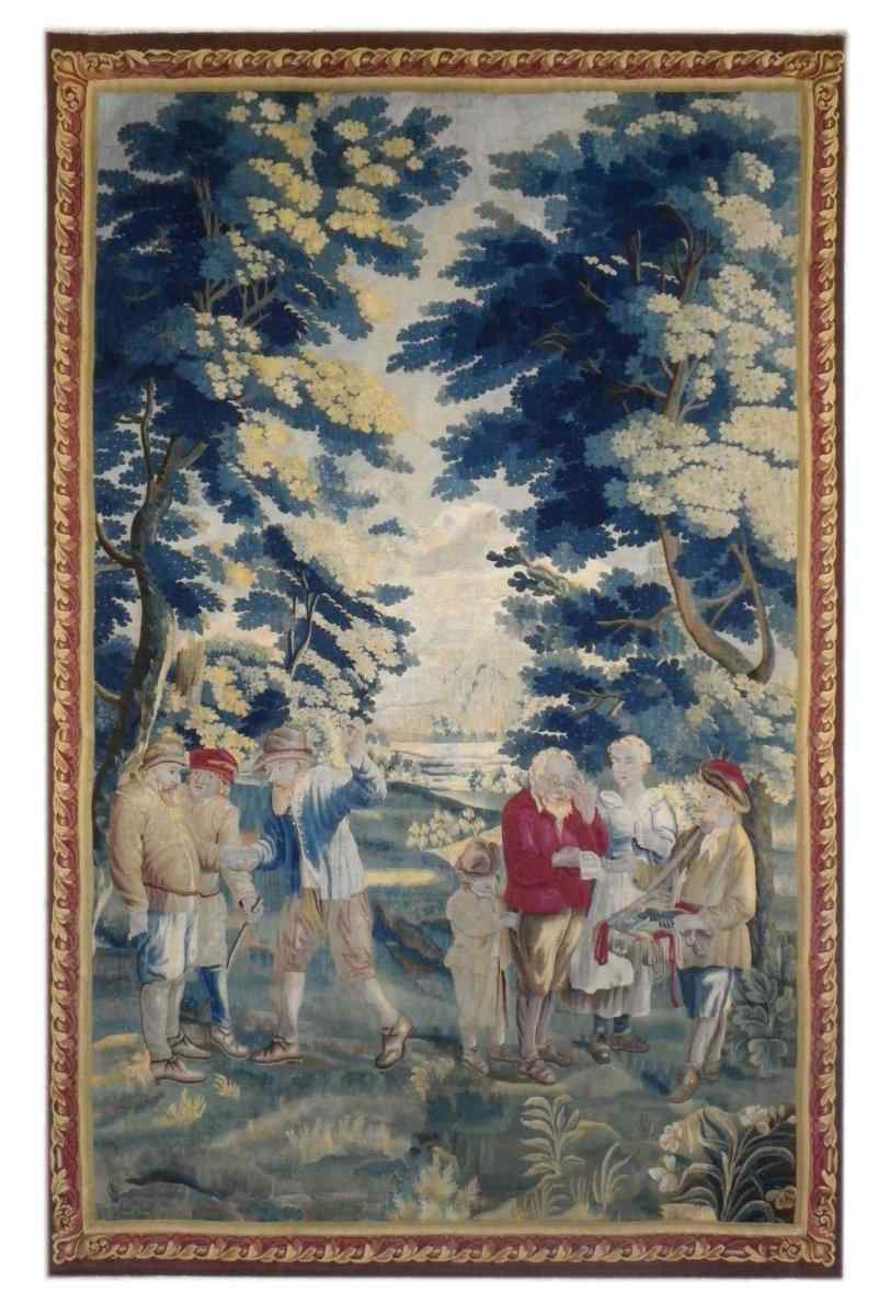 Tapisserie des Flandres, XVIIIe siècle
