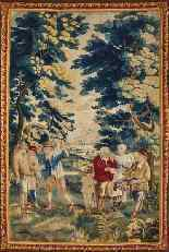 Tapisserie des Flandres, XVIIIe siècle-3