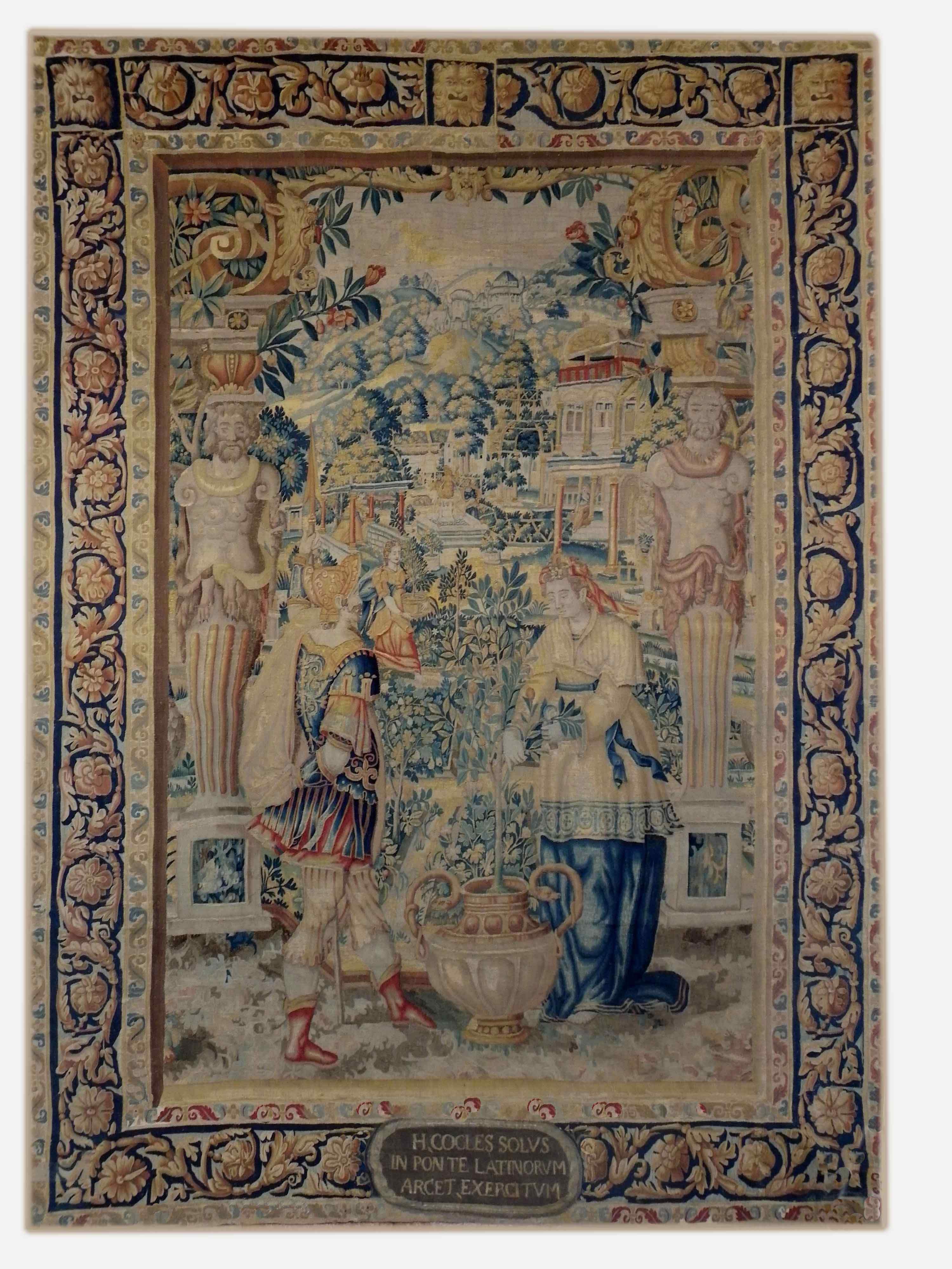 Tapestry of Brussels XVI - La Tenture de Vertumne and Pom