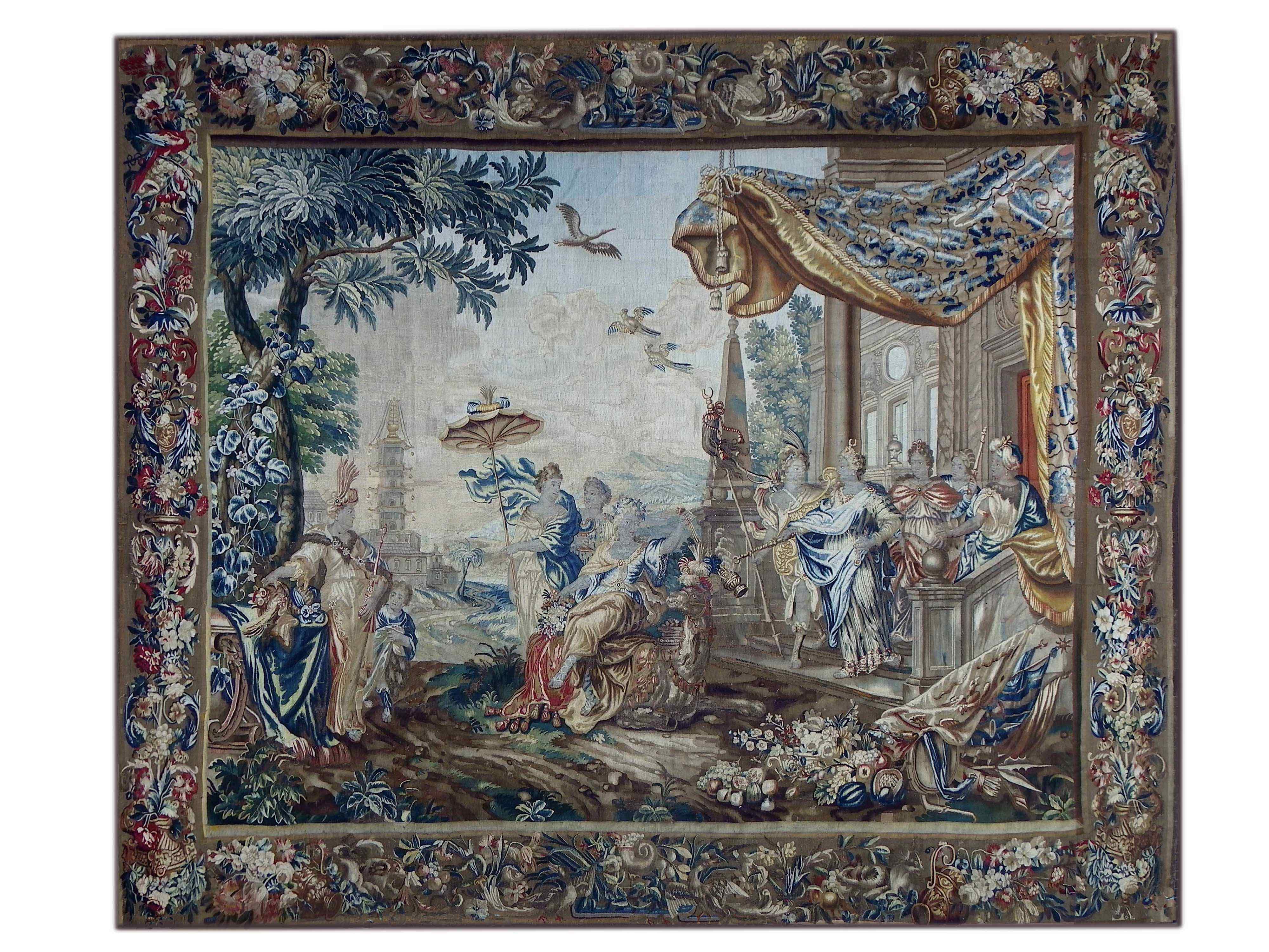 Manifattura Reale di Bruxelles Tapestry - XVII
