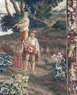 Tapestry of Flanders, Lille - Period XVIIth Century-3