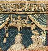 Tapisserie Aubusson époque XVIIe - Le Banquet d'Alcinous-7
