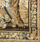 Tapisserie Aubusson époque XVIIe - Le Banquet d'Alcinous-5