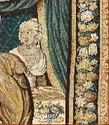 Tapisserie Aubusson époque XVIIe - Le Banquet d'Alcinous-3