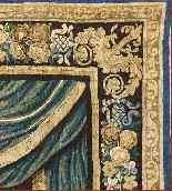 Tapisserie Aubusson époque XVIIe - Le Banquet d'Alcinous-4
