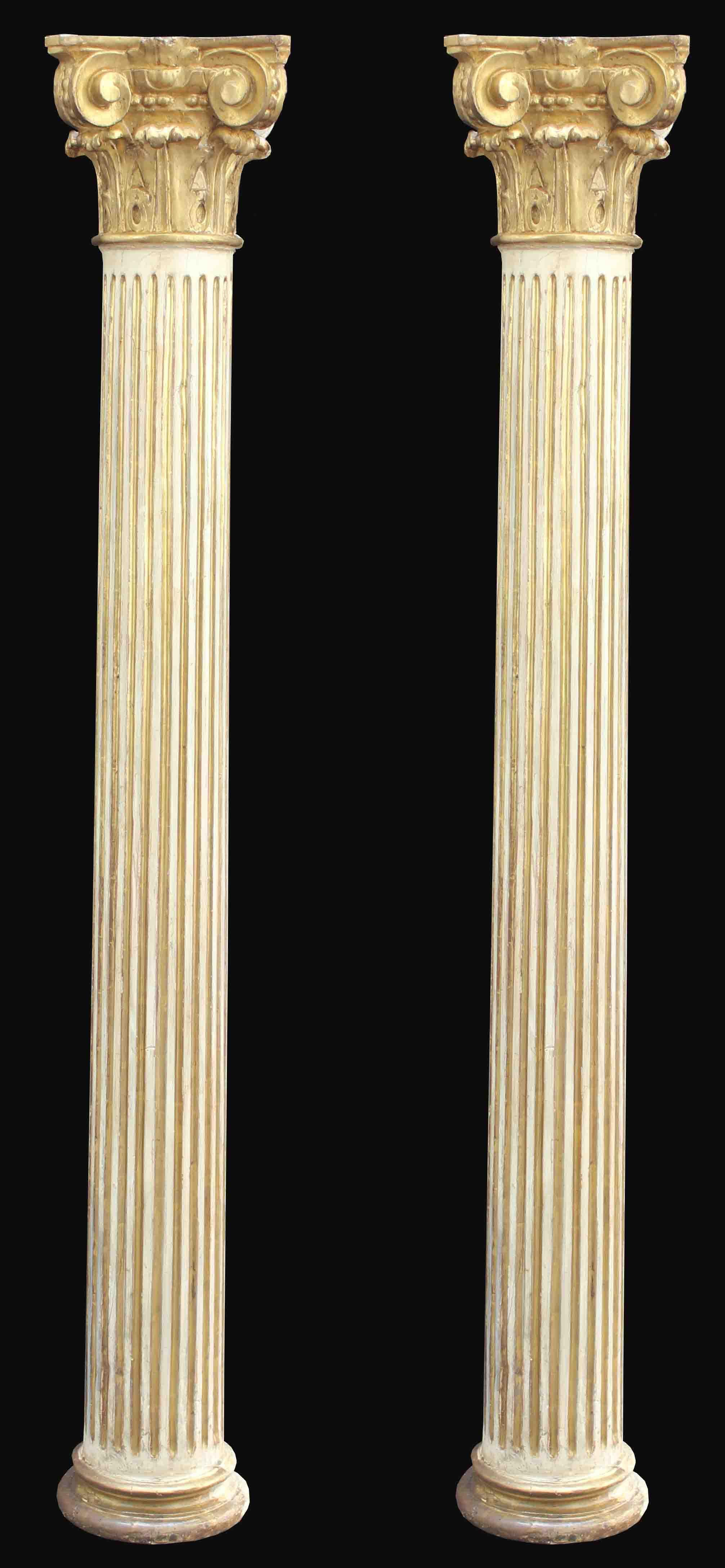 XVIII siècle de colonnes Couple