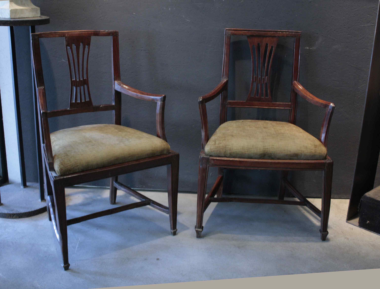 chaises vénitiennes del'700