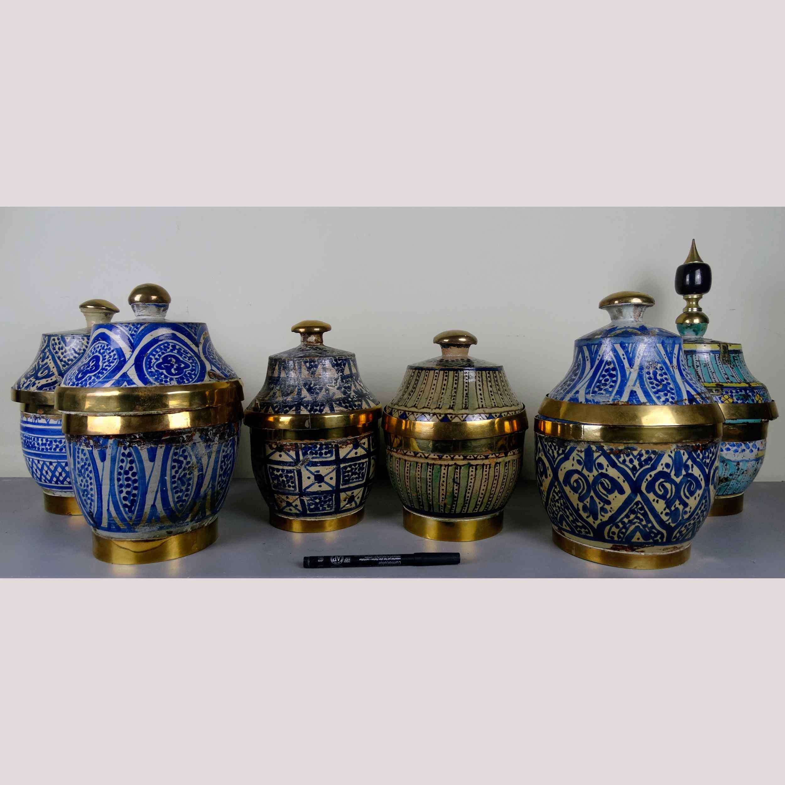 Sei antichi vasi islamici anticswiss for Vasi antichi
