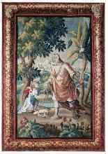 Tapestry Aubusson  Epoque XVII-3