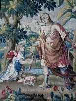 Tapestry Aubusson  Epoque XVII-6