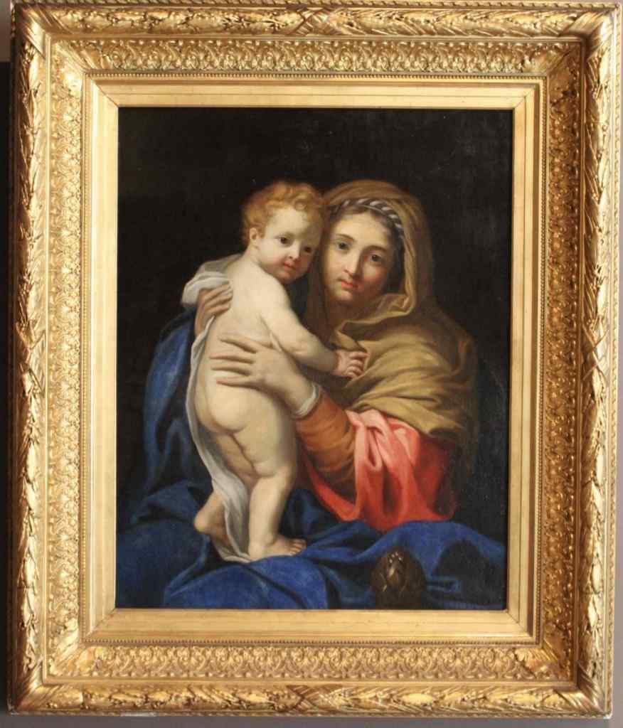 Vergine col Bambino del XVII secolo