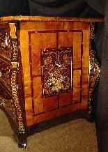 Important 17th century Mazarine Commode-9