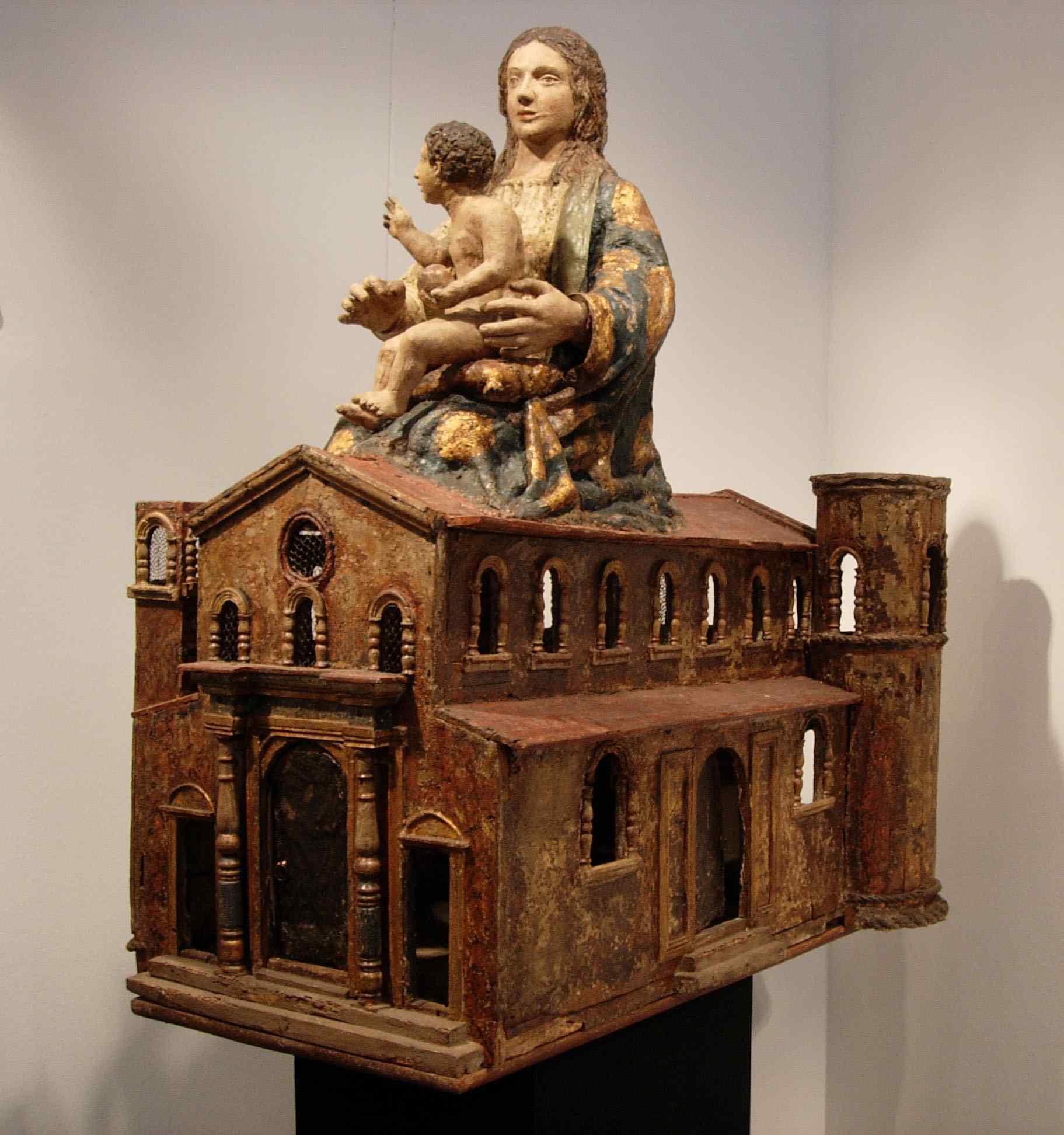 Sanctuaire de Loreto en plastique - Sculpteur Marches