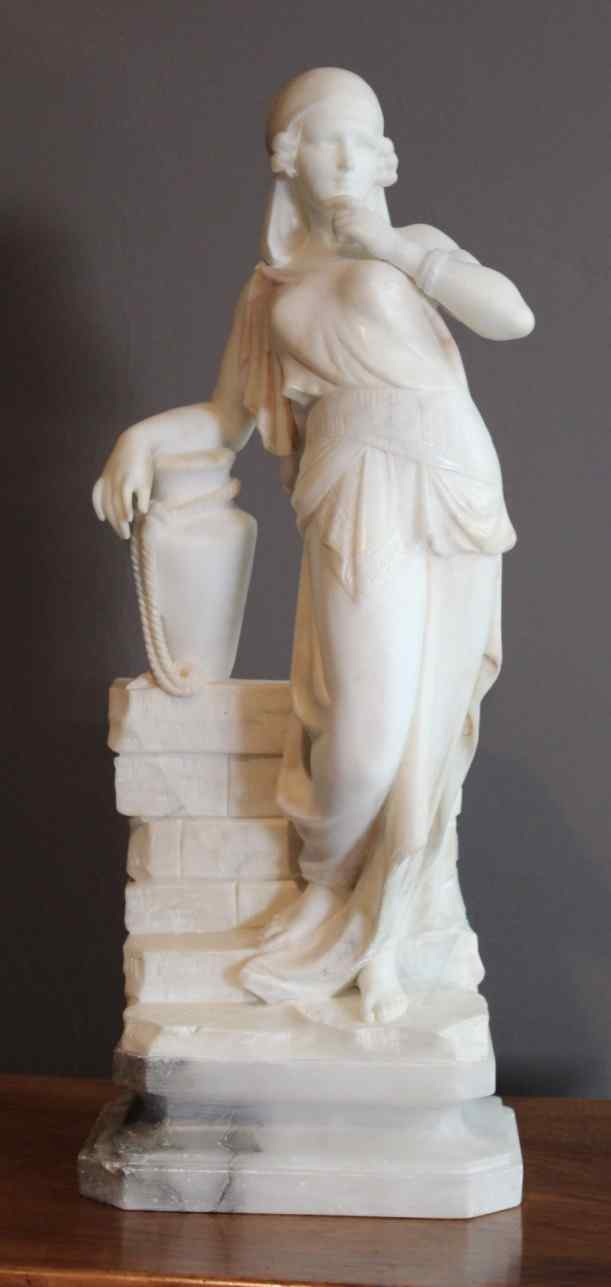 Alabaster Sculpture by Cipriani