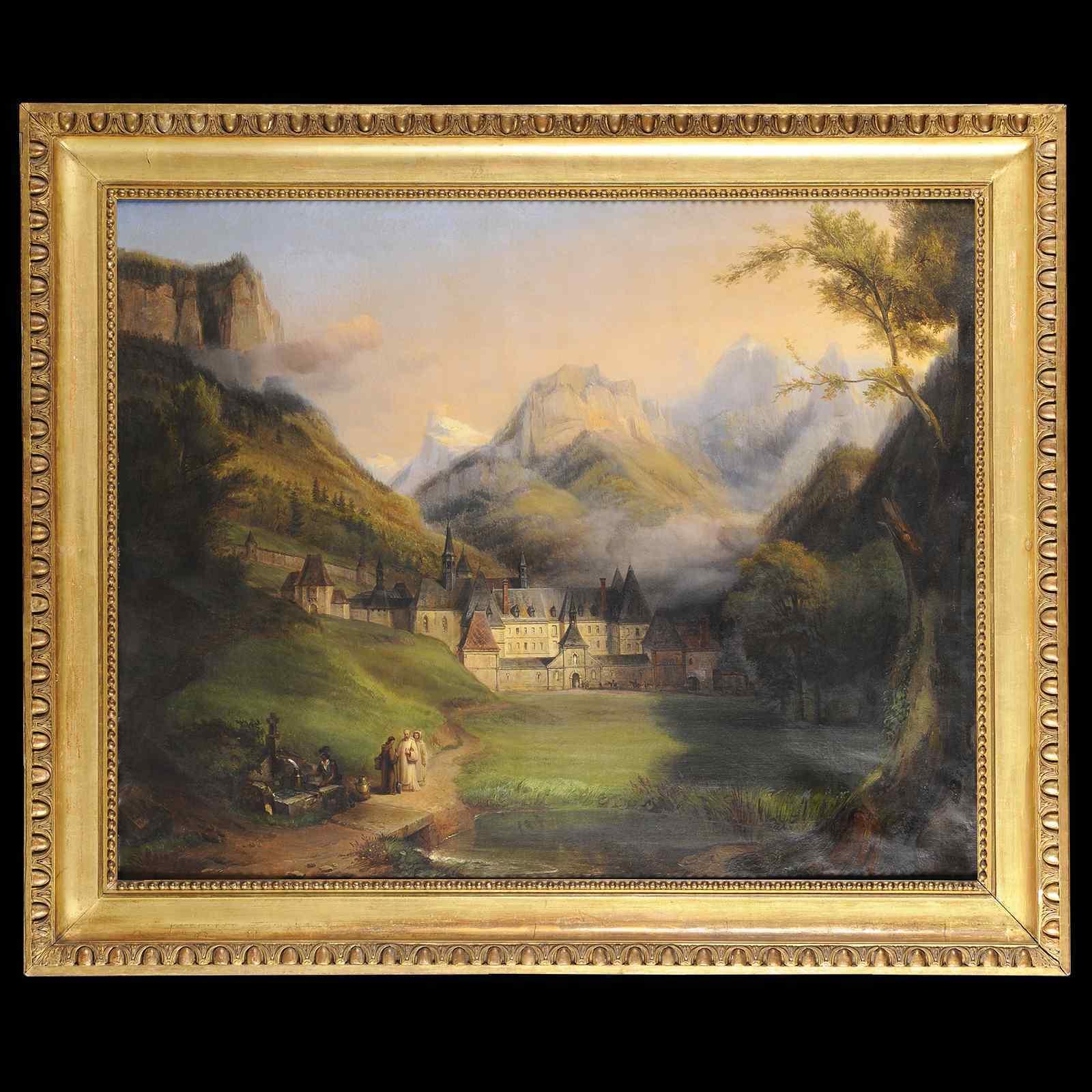 Большой формат - FE Ricois (1795-1881) - La Grande Шартрез