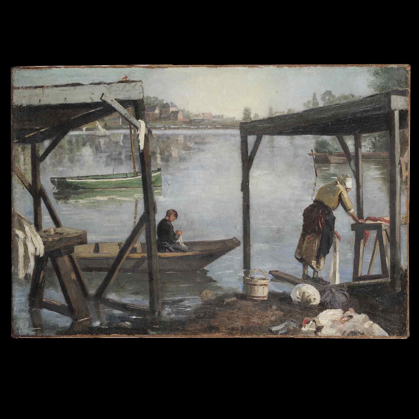 vivace Riverfront - Scuola Francese impressionista
