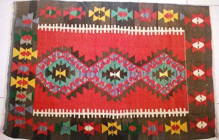 Carpet Kilim Turkish Nomad Denizli