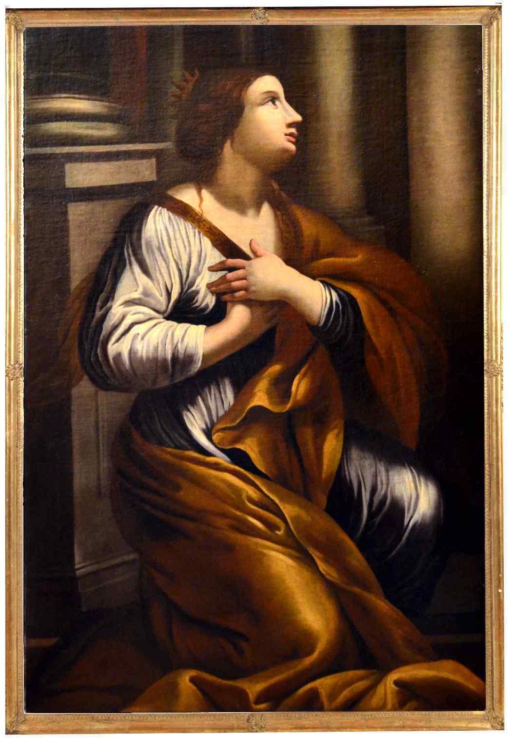 Gian Giacomo Sementi (1583 - 1640), attrib., Santa Caterina