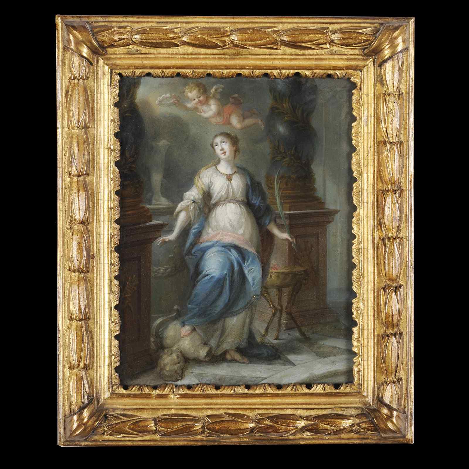 Sainte Martine idoli smashing - Scuola del Nord 1700