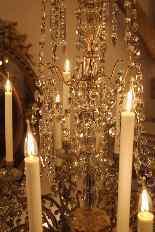 Grand lustre corbeille en bronze et cristal à 18 feux, époqu-12