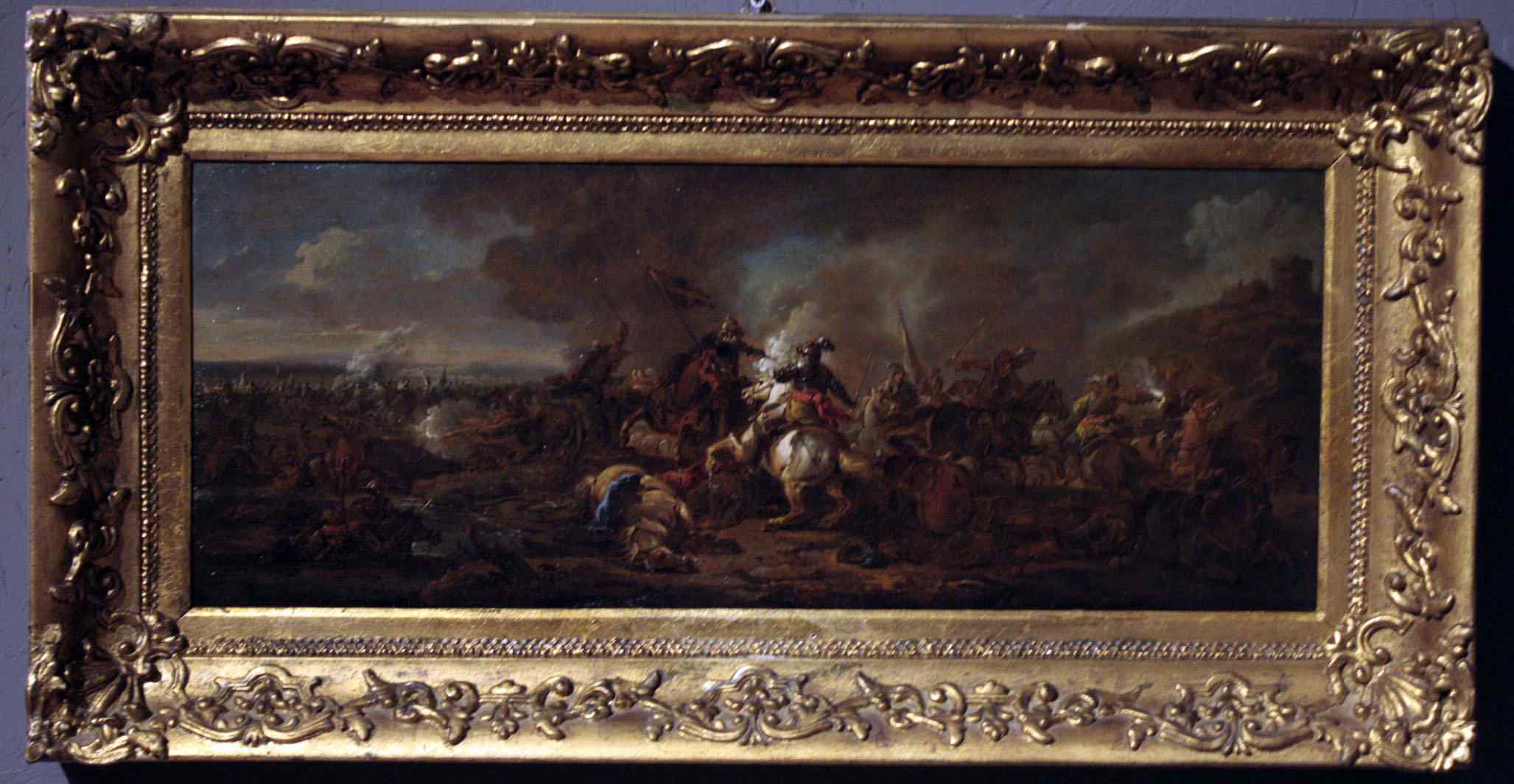 Филипс Вуверман (1619-1668) - сцена битвы