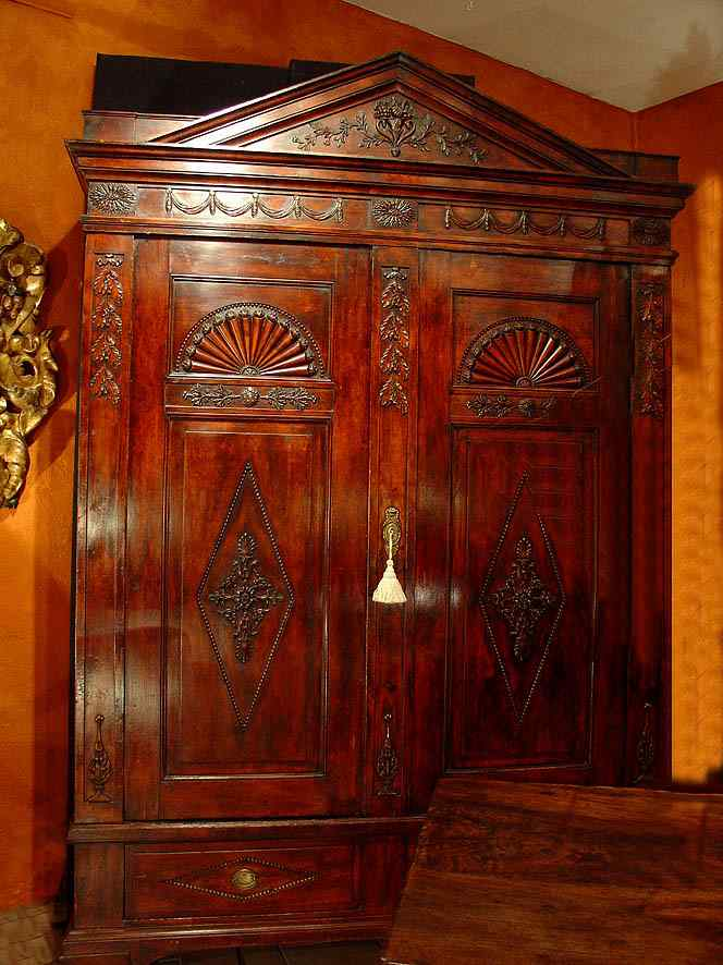 English 18th century Armoire