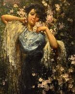 Salvatore Postiglione (Naples 1861-1906), La Printemps-0