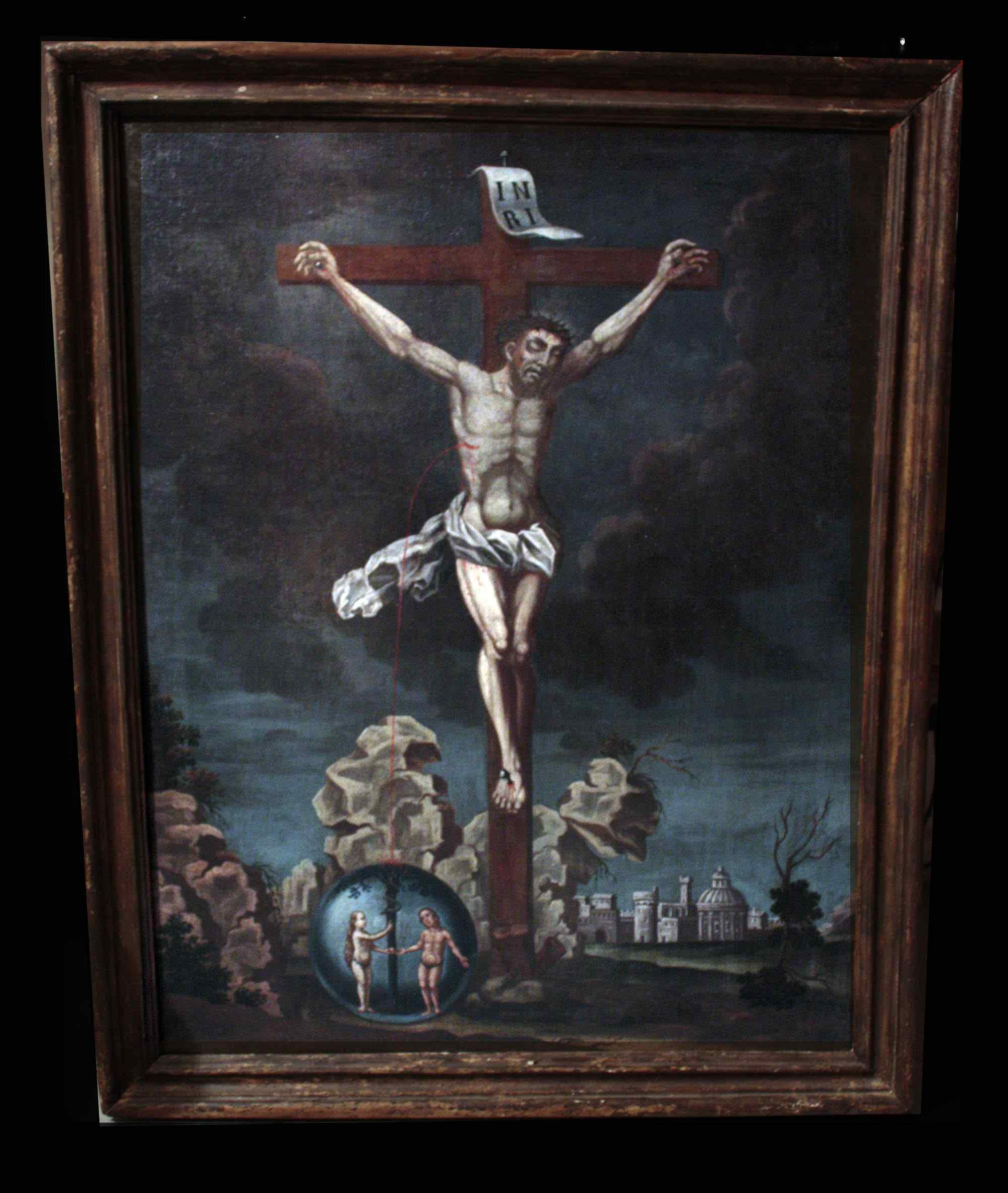 Окрашенные «Искупление человека» сек. XVIII