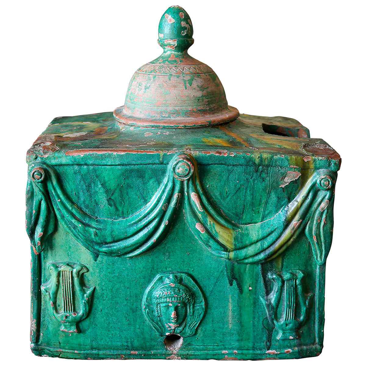 An Earthenware Fountain 18th century