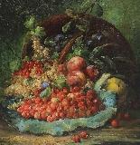 Eugène Petit (1839 - 1886), Natura morta con frutta-2