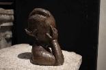 Scultura in terracotta bronzata