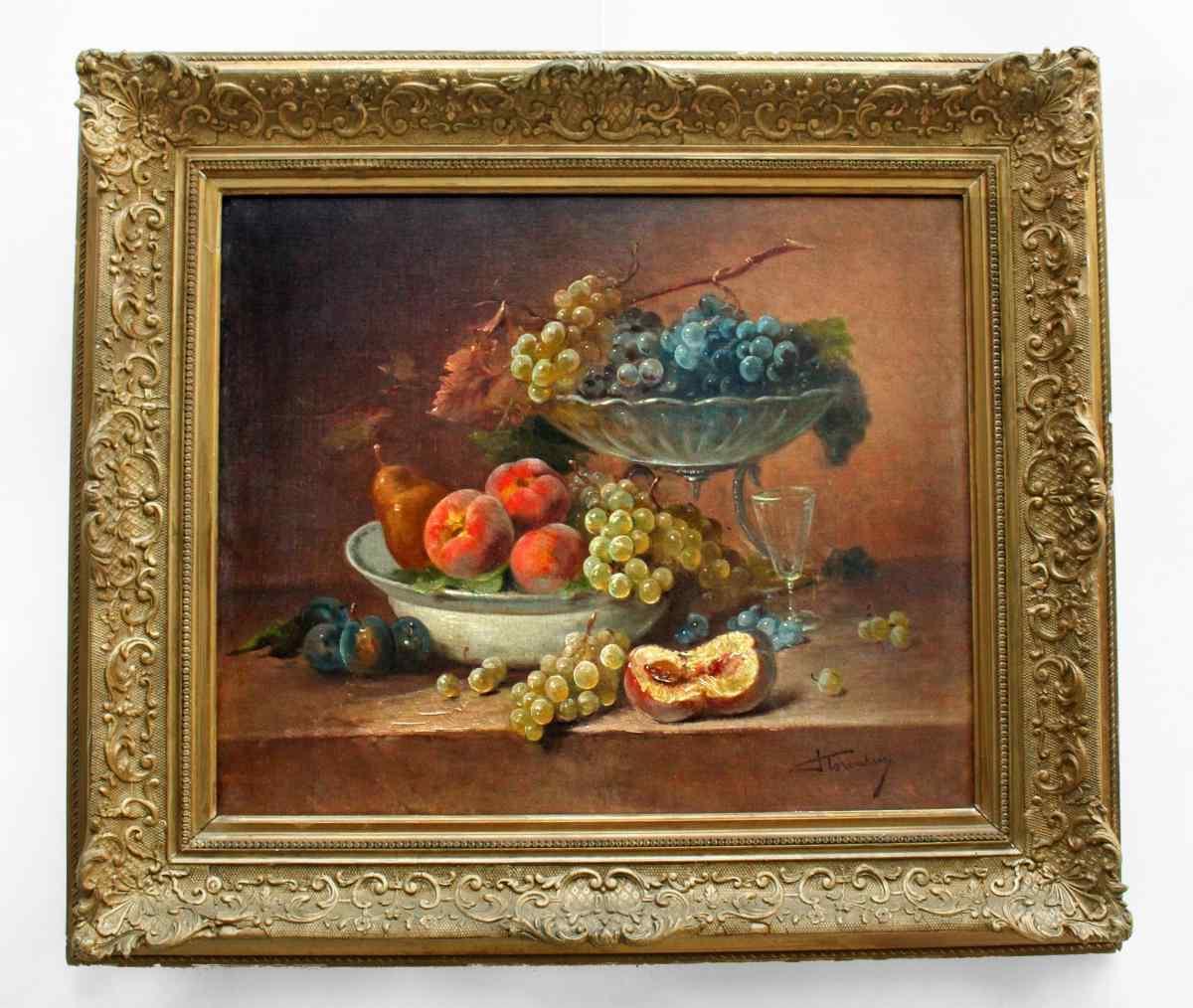 Tabella frutta firmato FLORENTIN (Brunel Neuville).