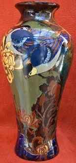 Paire De Vases Rozenburg Den Haag, Art Nouveau.-6
