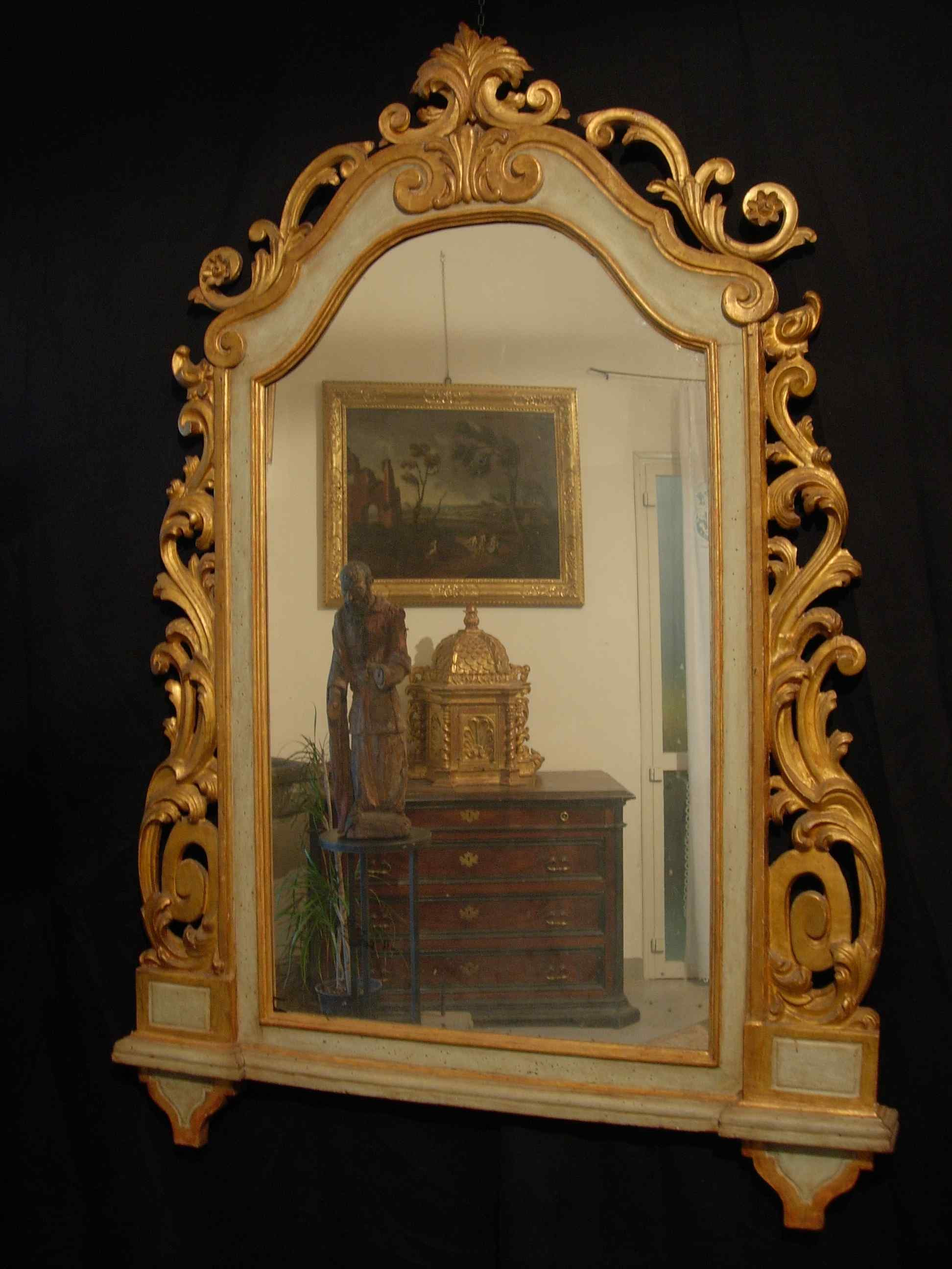 Tuscan Зеркало Sec. XVIII