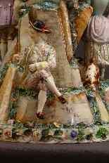 Molto importante gruppo porcellana Wallendorf Medio XVIIIè-9