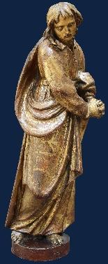 Конец ХVI века, Богородица и Санкт-Джованни Евангелиста, Вуд-3