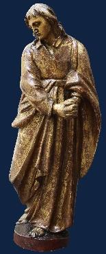 Fin du XVIe siècle, la Vierge et saint Giovanni Evangelista,-2