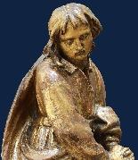 Fin du XVIe siècle, la Vierge et saint Giovanni Evangelista,-4