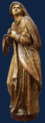 Fin du XVIe siècle, la Vierge et saint Giovanni Evangelista,-5