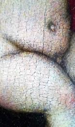 Madonna con Bambino, tavola del '500,ambito Marco D'Oggiono-9