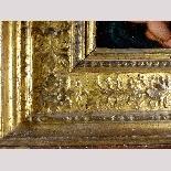 Madonna con Bambino, tavola del '500,ambito Marco D'Oggiono-12