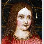 Madonna con Bambino, tavola del '500,ambito Marco D'Oggiono-4