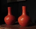 Couple de vases - XX siècle.-1