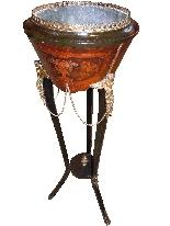 Decorazione impero con bronzi dell'800 francese-2
