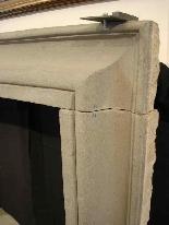Каменный камин. Салватор Роза сек. XVII-2