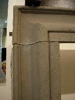 Каменный камин. Салватор Роза сек. XVII-1